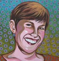 """Melissa """"Sasi"""" Chambers, tarpestry artist"""