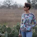 This shirt rocks - Daytripper shirt by Shwin Designs sewn by http://mellysews.com