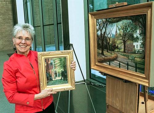 Melody Phaneuf exhibits paintings at MFA Boston