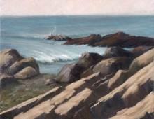 Dawn, Bass Rocks