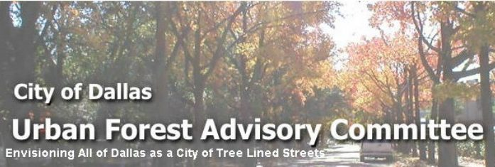 City of Dallas Urban Forest Committee