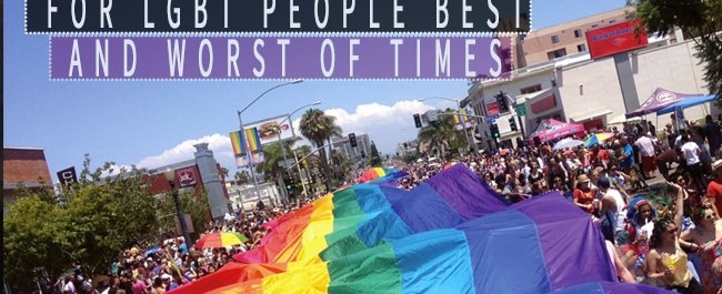 For LGBT People Best And Worst Of Times