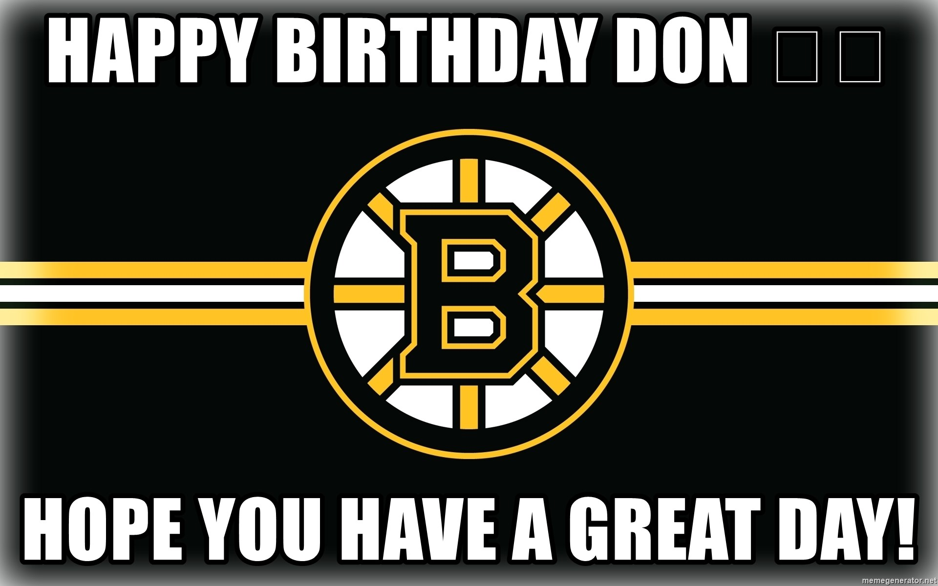 Fullsize Of Happy Birthday Don