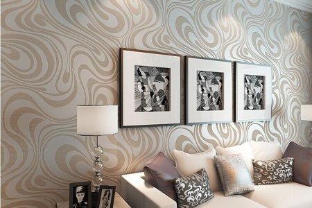 mod retro chic metallic wavy trends home decor decorating 2017