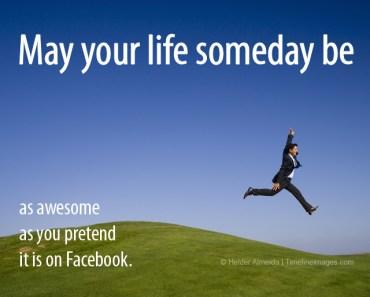 Facebook pretenders meme quote