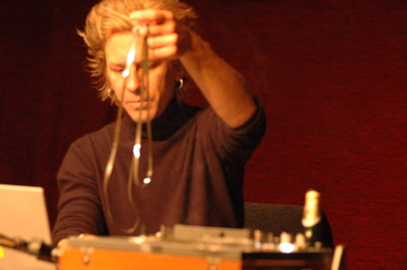 William Basinski handles magnetic tape