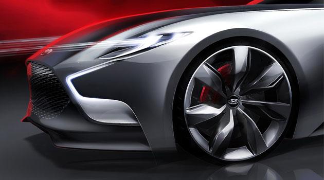 Hyundai HND-9 visualizando el futuro del Genesis