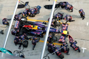 Infiniti Red Bull Racing Sets New Pitstop World Record