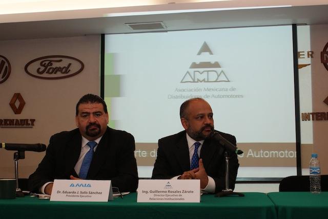 Casi 20% avanzó la venta de automotores ligeros en abril en México