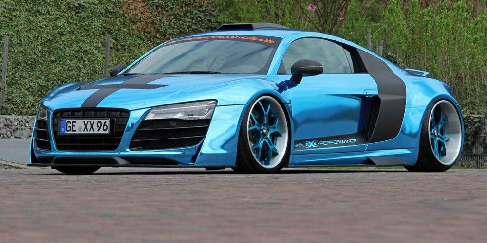 Audi R8 preparado por XXX Performance