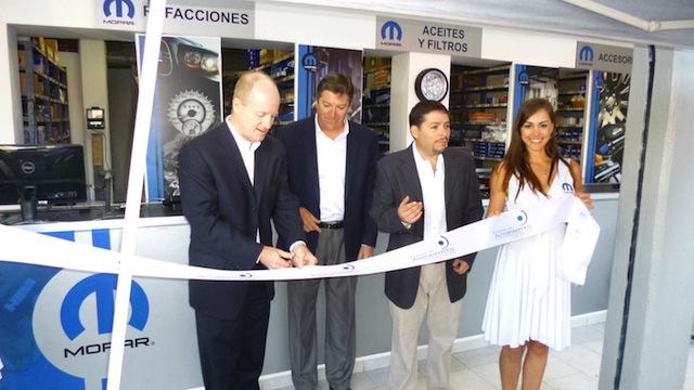 Mopar inaugura la primera Mopar Shop en México