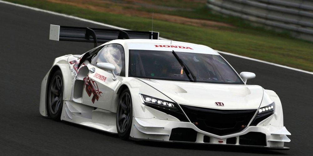 NSX-GT de Honda para el Super GT