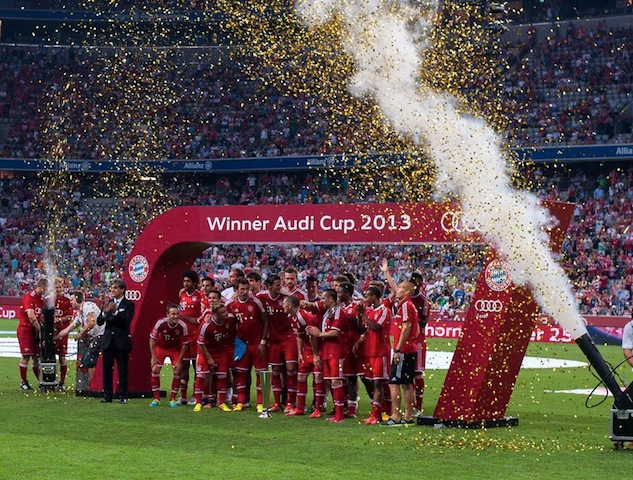 FC Bayern de Munich, campeón del Audi Cup 2013
