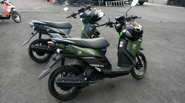 Yamaha presenta en México su nuevo scooter TTX