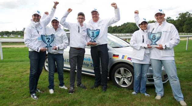 Dúo alemán gana el campeonato mundial de ahorro de combustible de Volkswagen