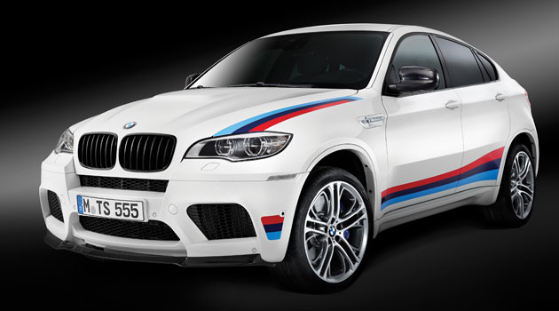 BMW lanza edición limitada del BMW X6 M Design Edition