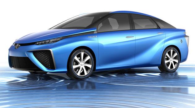 Así es el Toyota FCV, con pila alimentada por hidrógeno