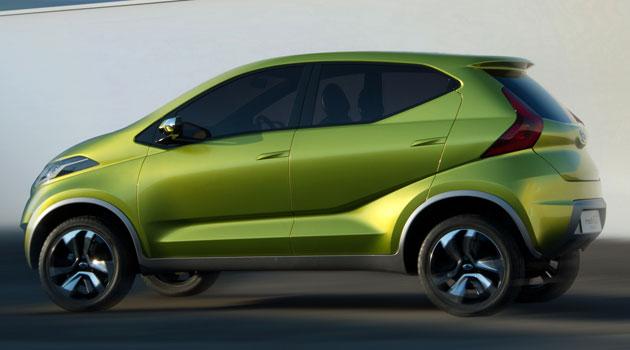 Datsun redi-GO en el Salón de Nueva Delhi