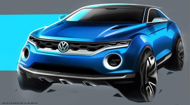 Volkswagen T-Roc un nuevo camino de diseño de la marca