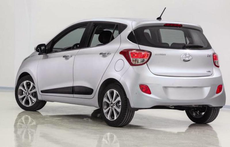 Hyundai Grand i10 blanco