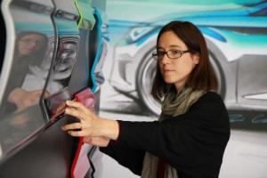 SEAT Carol Gómez del Equipo de Color del Centro de Diseño de SEAT