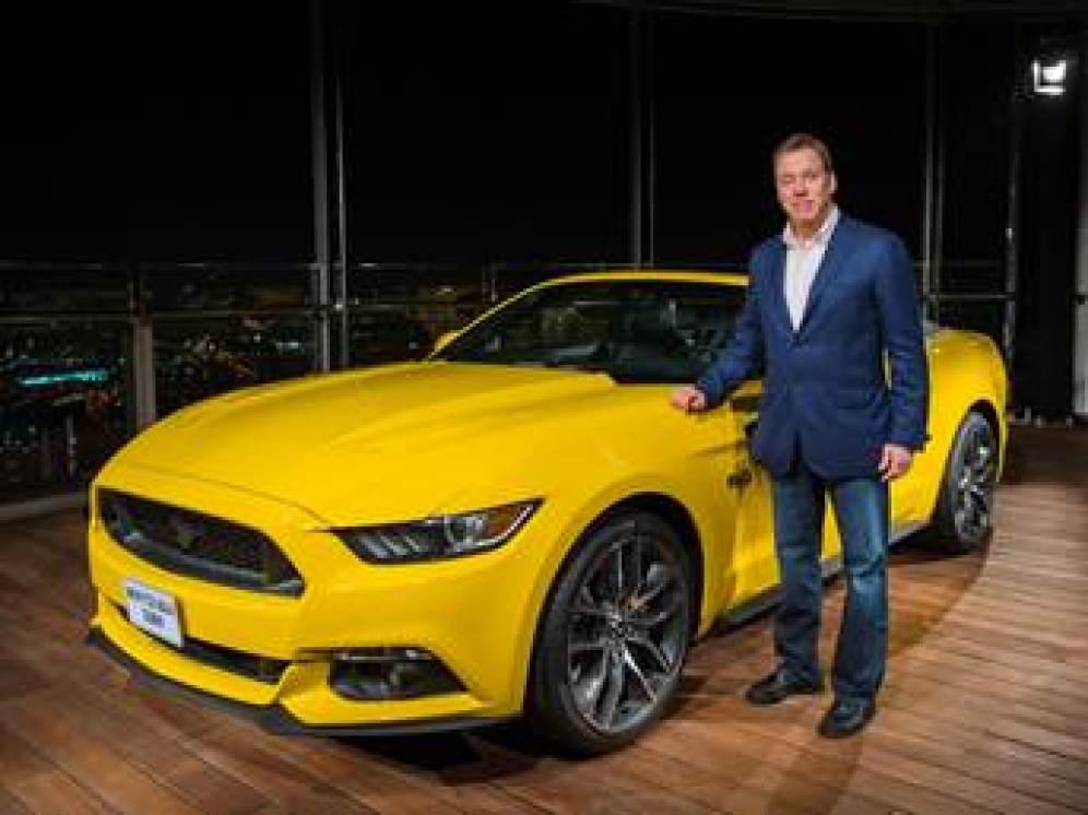 Bill Ford, Presidente Ejecutivo de Ford y bisnieto de Henry Ford fue el encargado de llevar al Mustang a nuevas alturas.