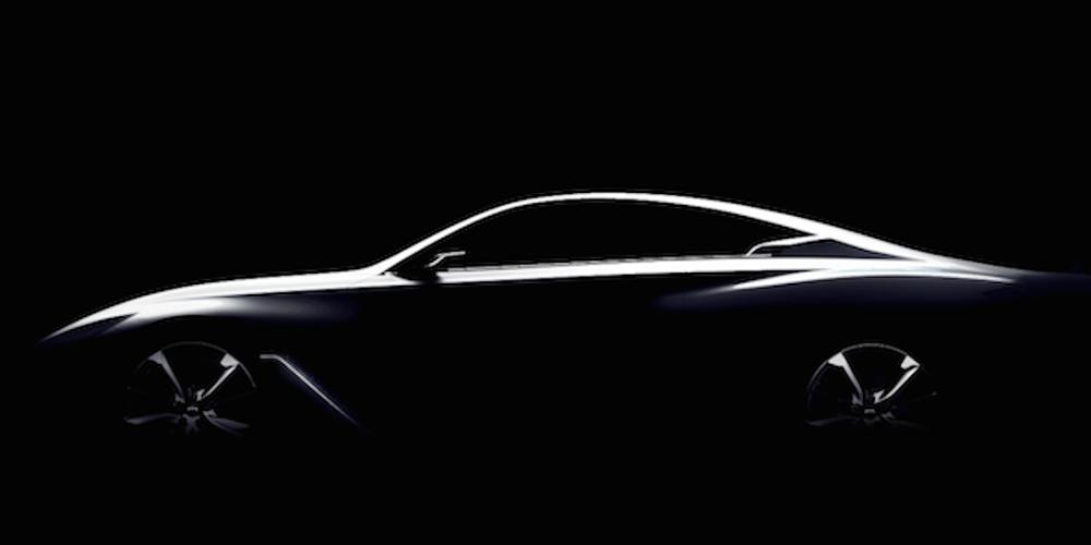 Detroit 2015, Infiniti Q60 Concept