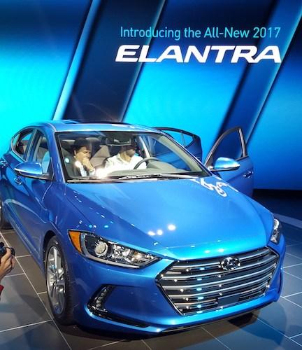 Hyundai Elantra 2017, Los Ángeles Autoshow