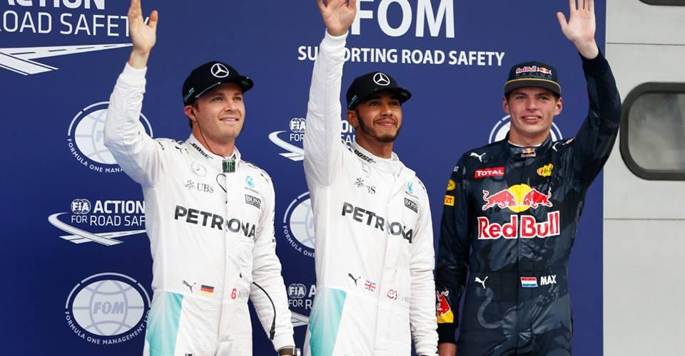 Hamilton supera a Rosberg con la pole en Malasia