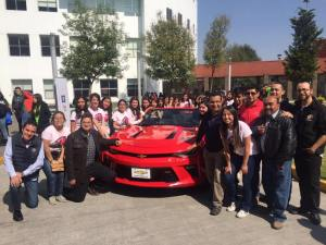 GM y los estudiantes nacionales, a poner en lo alto a México