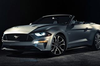 Mustang convertible 2018, un pony sin montura