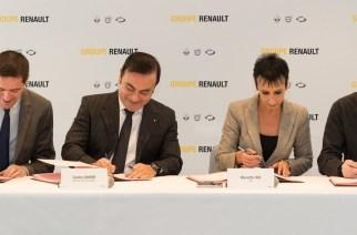 Renault Francia, firma del Contrato de Negocio para el Desempeño Sostenible