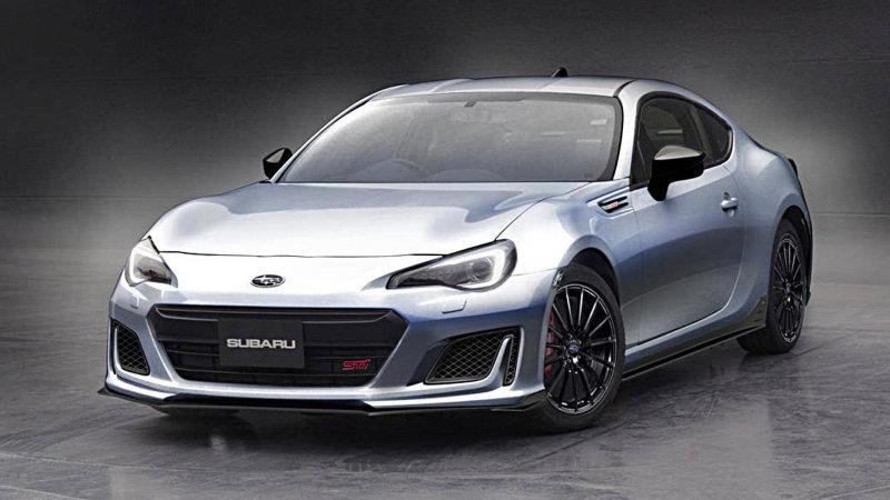 Para Tokio, Subaru STI-BRZ Concepto
