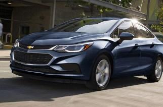 Chevrolet Cruze diésel, el más eficiente del año