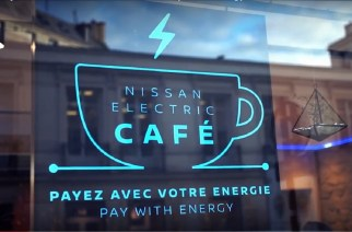 "Nissan y… un ""Electric Café"""