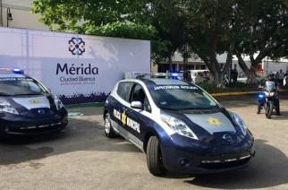 Nissan introduce patrullas cero emisiones en Mérida, Yuc.