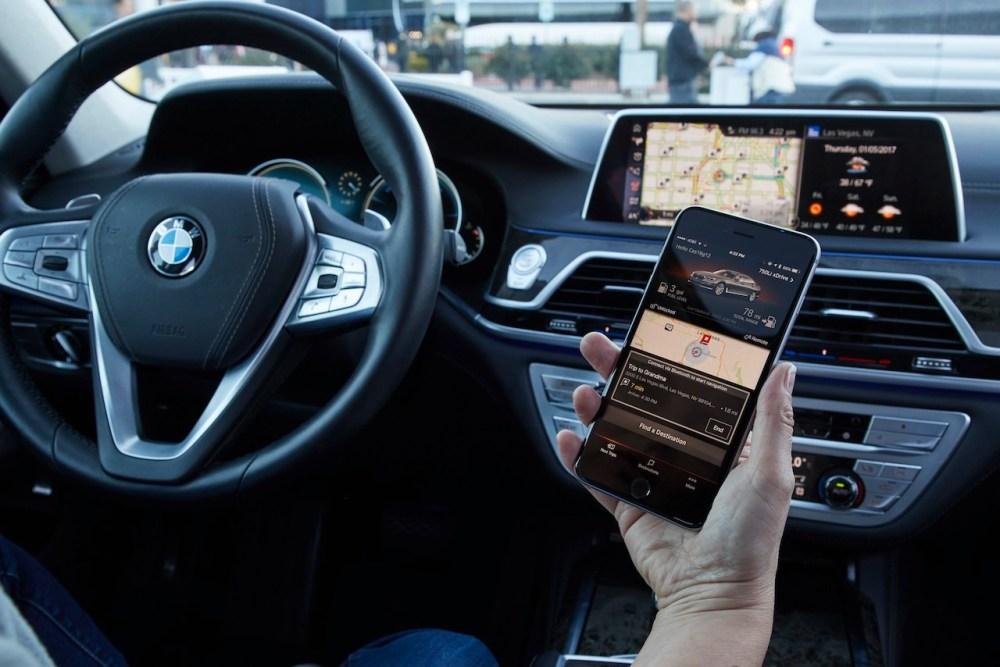 """El Grupo BMW en el """"Mobile World Congress 2017"""" en Barcelona."""