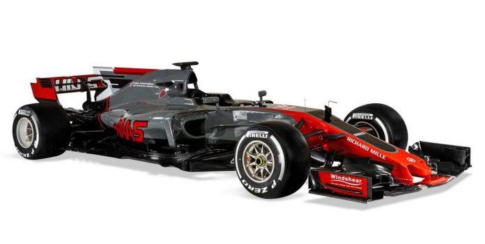 HAAS presentó su segundo F1: el VF17