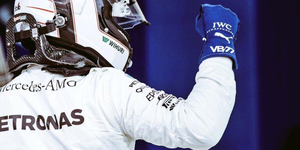 Valtteri Bottas logra su primera pole en Bahréin