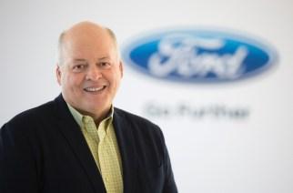 Jim Hackett, nuevo CEO de Ford.