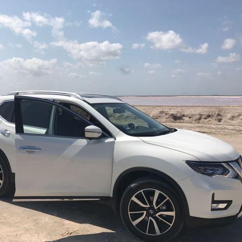 mejor_que_playa4_Nissan_xtrail_2018_las_salinitas_las_coloradas_Merida_coche