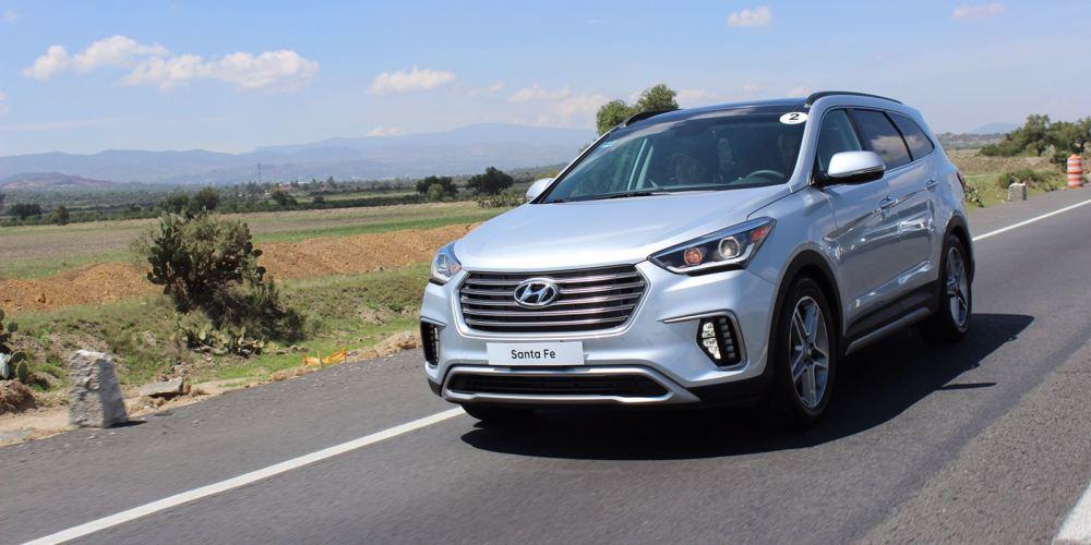 Hyundai Santa Fe 2018 para siete pasajeros, lanzamiento en México