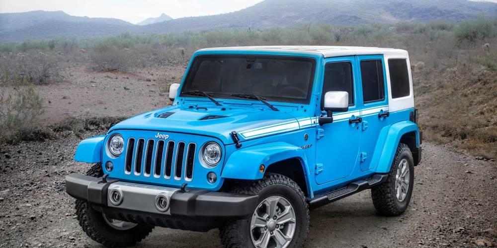 Jeep Wrangler Unlimited Chief Edition 2017, sólo 100 unidades para México