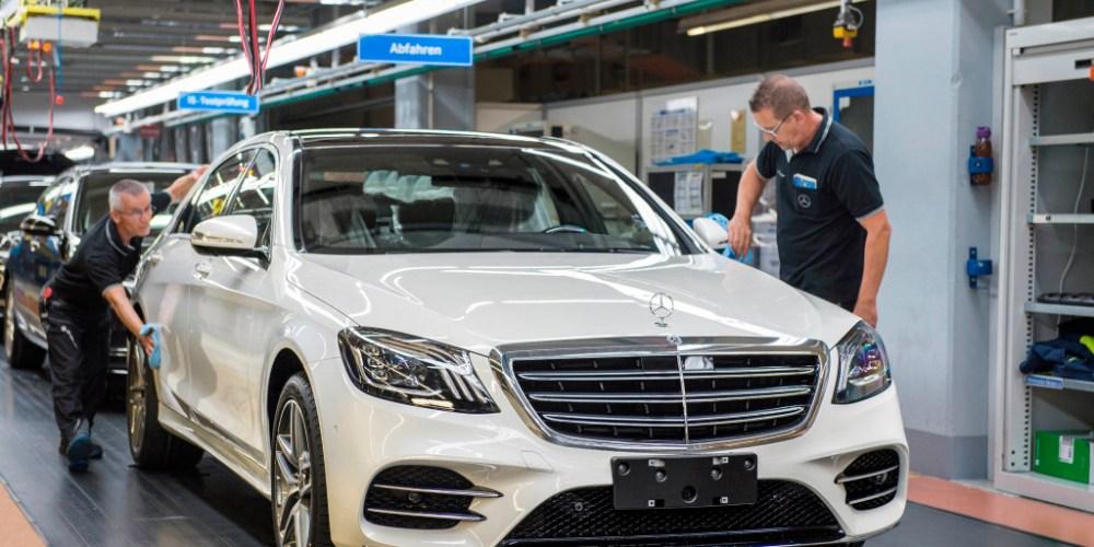 Mercedes-Benz Clase S 2018, inicio de producción y manejo autónomo