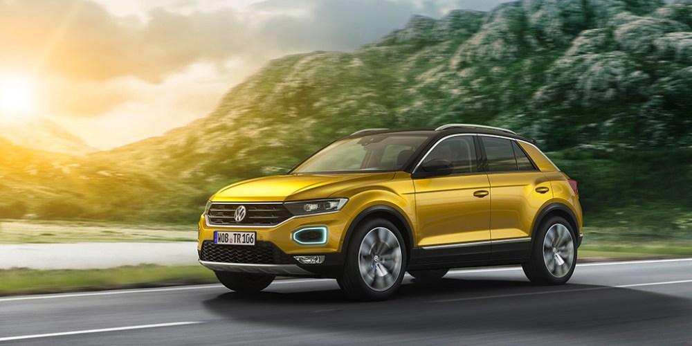 Volkswagen presenta el nuevo Crossover compacto T-Roc en Europa