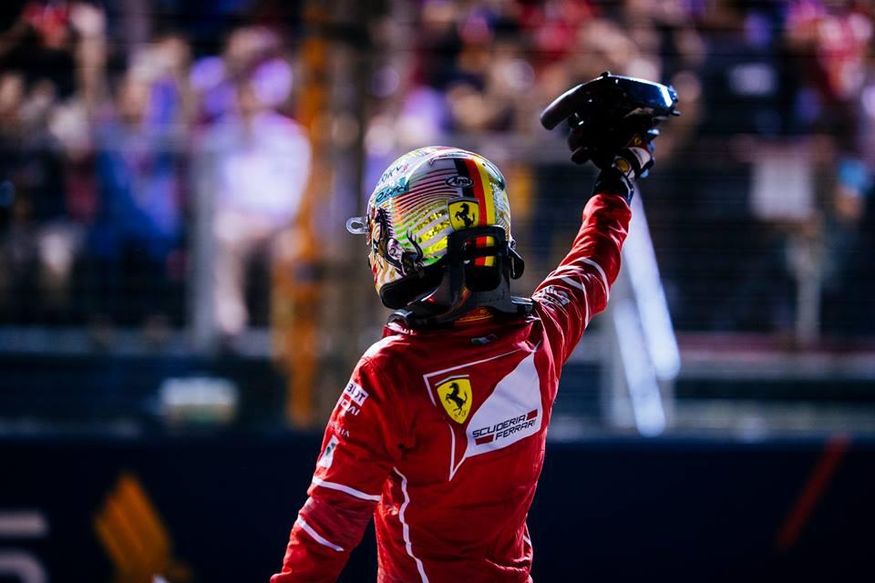 Vettel saldrá desde la pole en Singapur