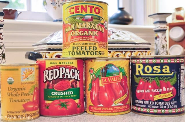 Buying Canned Tomatoes