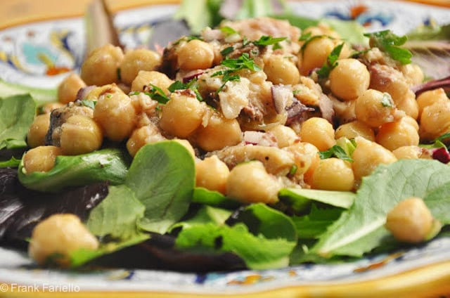 Sardine and Chickpea Salad