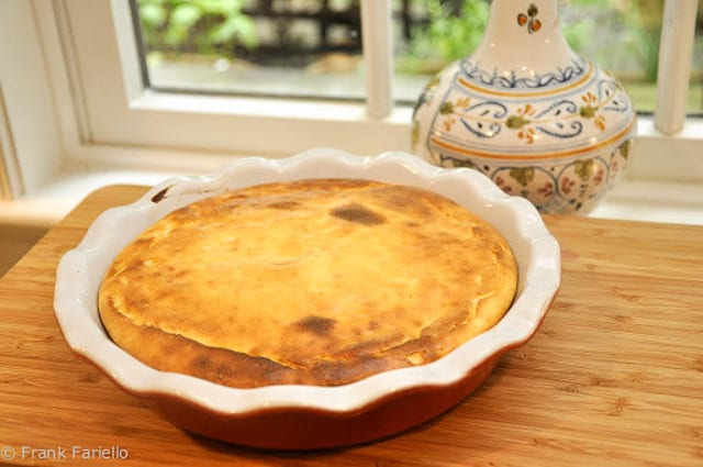 Angelina's Pizza Dolce (Italian Cheesecake)