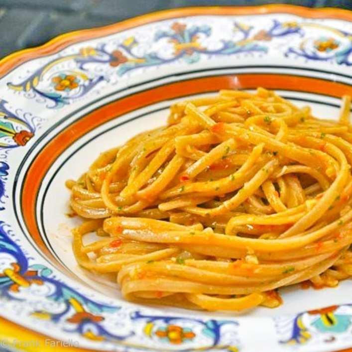Pesto alla trapanese (A Sicililan pesto)